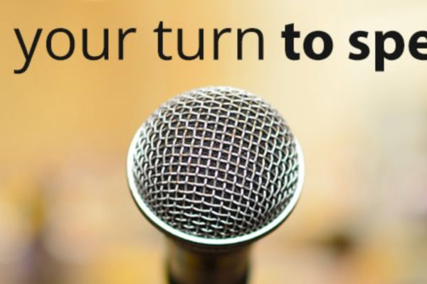 Small Business, Big Voices - Dear Coach - Public Speaking Header Image